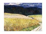 Kallmunz - Gewitterstimmung (The Stagecoach); Kallmunz - Gewitterstimmung (Die Postkutsche)  1904
