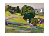 Landscape in Murnau  1908
