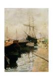 The Port of Odessa  1900
