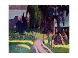 Summer at Murnau  1908