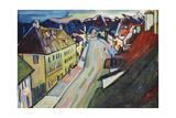 Murnau-Upper Market Street; Marnau-Obermarkt  1908