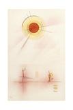 Sunshine, 1929 Reproduction d'art par Wassily Kandinsky