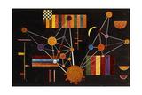 Network Seen from Above, No.231; Geflecht Von Oben, No. 231, 1927 Reproduction d'art par Wassily Kandinsky