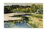River in Autumn  1900