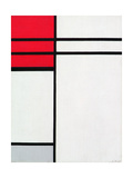 Composition (A) in Red and White  1936