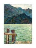 Kochelsee over the Bay  1902