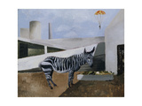 Zebra and Parachute