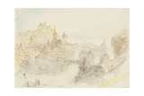 Rheinfelden Sketchbook [Finberg Cccxlix]  Baden from the South-East