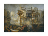 The Battle of Trafalgar  as Seen from the Mizen Starboard Shrouds of the Victory