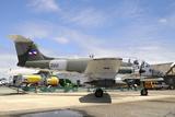 Uruguayan Air Force Ia-58 Pucara at Natal Air Force Base  Brazil