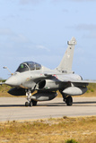 French Air Force Rafale B Taxiing at Natal Air Force Base  Brazil
