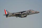 Av-8B Harrier Flying over Nellis Air Force Base  Nevada