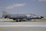A Turkish Air Force F-4E 2020 Terminator Ready for Take-Off