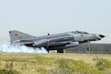 A Turkish Air Force F-4E 2020 Terminator Landing at Konya Air Base