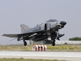 A Turkish Air Force F-4E 2020 Terminator Taking Off from Konya Air Base