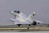 A Mirage 2000-5Dda from the Qatar Emiri Air Force Taking Off