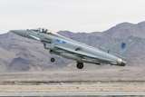 A Royal Air Force Eurofighter Typhoon Fgr4 Taking Off