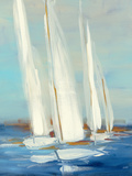 Summer Regatta II Reproduction d'art par Julia Purinton