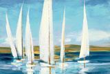 Horizon Reproduction d'art par Julia Purinton