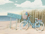 Beach Cruiser II Crop Reproduction d'art par James Wiens