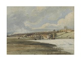 Exeter from Trew's Weir  C1799
