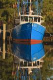 USA  Florida  Apalachicola  Shrimp Boat Docked at Apalachicola
