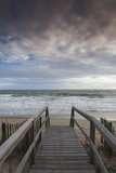 North Carolina, Outer Banks National Seashore, Kitty Hawk, Waterfront Papier Photo par Walter Bibikow
