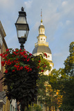 Historic Maryland State House in Annapolis  Maryland