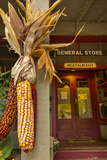 Indian Corn at Entrance to the Historic Story Inn  Story  Indiana