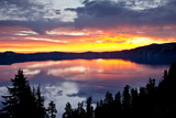 Sunrise  Crater Lake National Park  Oregon  USA  Lake  National Park  National Park