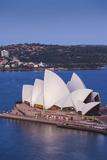 Australia  Sydney Opera House  Elevated View  Dusk