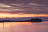 Georgia  Brunswick  Dawn View Along the Brunswick River Marshes