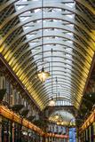 England, London, City, Leadenhall Market, Interior Papier Photo par Walter Bibikow