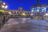 Mexico  Jalisco  Guadalajara  Plaza De Armas at Dawn