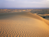 California  Imperial Sand Dunes  Patterns of Glamis Sand Dunes
