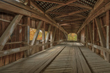 Cox Ford Covered Bridge over Sugar Creek   Parke County  Indiana