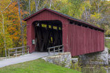 Cataract Covered Bridge over Mill Creek at Lieber  Indiana
