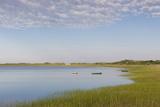 Massachusetts, Cape Cod, Wellfleet, View of the Gut by Great Island Papier Photo par Walter Bibikow