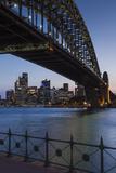 Australia  Sydney Harbor Bridge and Skyline from Milsons Point