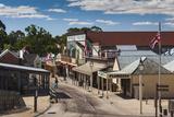 Australia  Victoria  Ballarat  Sovereign Hill  Town View