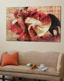 San Miguel, Bullfight 1 Toile Murale Géante par Doug Landreth