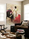San Miguel, Bullfight 2 Toile Murale Géante par Doug Landreth