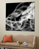 Smoke Abstract Toile Murale Géante par THE Studio