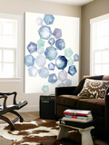 Watercolor Hexagons B