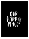 Our Happy Place BLK