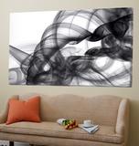 White Smoke Abstract