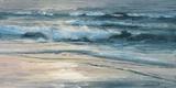 Shoreline study 01615 Toile Murale Géante par Carole Malcolm