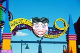 Coney Island's Amusement Park Entrance Sign