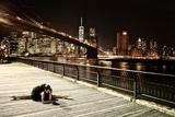 A Classic Ballerina Dances in Brooklyn Bridge Park