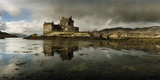 Eilean Donan Castle  Built on a Rocky Promontory at the Meeting Point of Three Sea Lochs